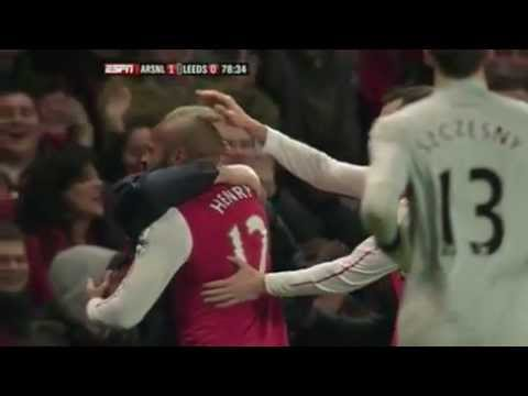 The Return of The King : Thierry Henry Vs Leeds