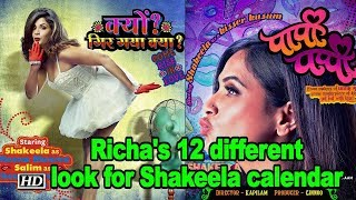 Richa Chadha's 12 different look for Shakeela calendar - BOLLYWOODCOUNTRY