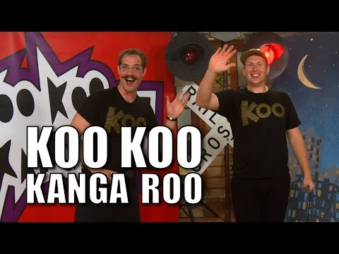 Koo Koo Kanga Roo - Ridin' On the Train - Choo Choo Bob Show