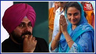 Navjot Singh Sidhu And Harsimrat Badal Lock Horns Over Kartarpur Corridor! - AAJTAKTV