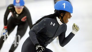 Being Maame: This is how the youngest U.S. Olympics speed skater prepares to win - WASHINGTONPOST