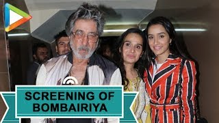 SPOTTED: Shraddha Kapoor, Shakti Kapoor, Annu Mallik and Others At Special Screening of 'Bombairiya' - HUNGAMA
