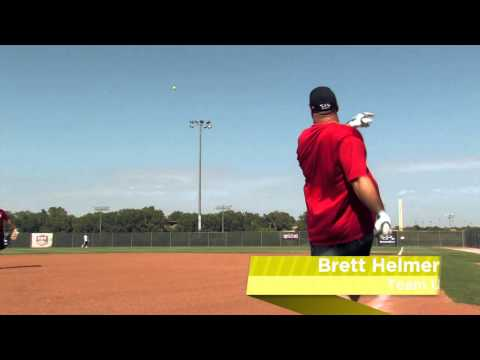 Brett Helmer Shows Off the Easton Synergy Tri-Zone Slow Pitch Bat: SCN18 - JustBats.com! Video