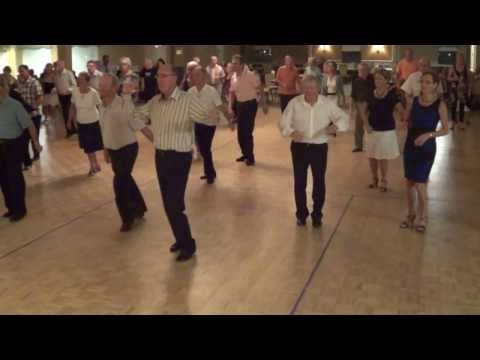 ZORBA Line Dance @ 2013 December FRENCH ALLIANCE DANCE PARTY in Deerfield Beach FLORIDA
