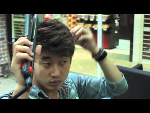 Korean hairstylist Sean's Regent hair selfstyling