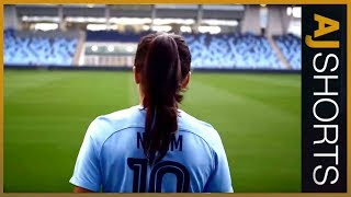 🇦🇫🇩🇰A Woman's Game: Nadia Nadim l AJ Shorts - ALJAZEERAENGLISH