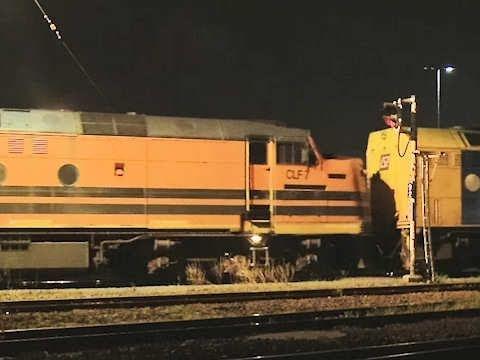 Quad CLP/CLF lashup departing Dynon - Long Australian Freight Train - PoathTV -aZak-h9ylE0