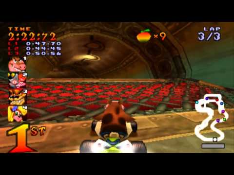 MrDaimon Plays: Crash Team Racing pt.2 - Ripping Roo's Tubes