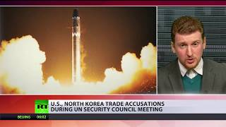 Nuclear face-off: US, North Korea trade accusations during UNSC meeting - RUSSIATODAY