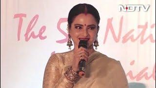 Rekha On Her Association With Asha Bhosle & Lata Mangeshkar - NDTVINDIA