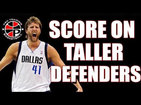 Score on Taller Defenders   Dirk Nowitzki Fade Away   Pro Training Basketball
