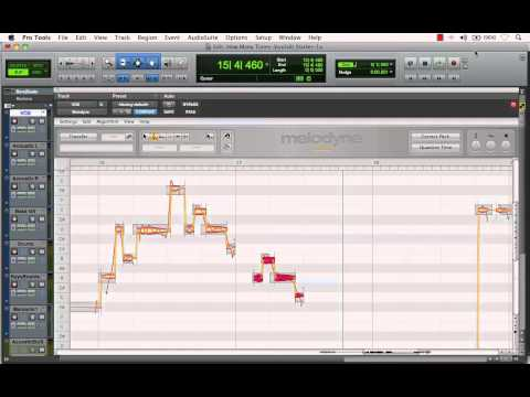 "Melodyne Plugin: ""Creating Vocal Delay Effect"" in Pro Tools"