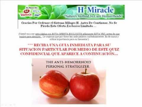 Curar Las Hemorroides - Remedios Naturales - En Solo 2 Días!