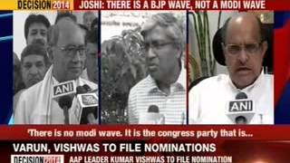 Murli Manohar Joshi: There is a BJP wave, not a Modi wave - NEWSXLIVE