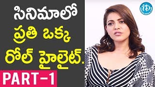 Actor Bellamkonda Srinivas & Actress Kajal Aggarwal Interview - Part #1 | Talking Movies With iDream - IDREAMMOVIES