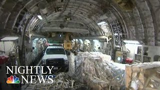 Inside Relief Flight to Hurricane Battered St. Thomas | NBC Nightly News - NBCNEWS