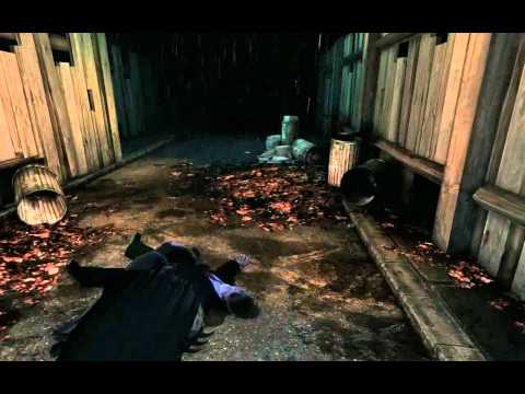 Batman: Arkham Asylum - Parents' murder scene