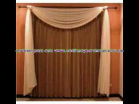 CORTINAS PARA VENTANAS www.cortinasypersianas.com.pe LIMA PERU