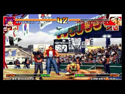 The King of Fighters 97 Plus With Athena Asamiya