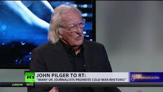 John Pilger talks cold war rhetoric & journalists (PROMO) - RUSSIATODAY