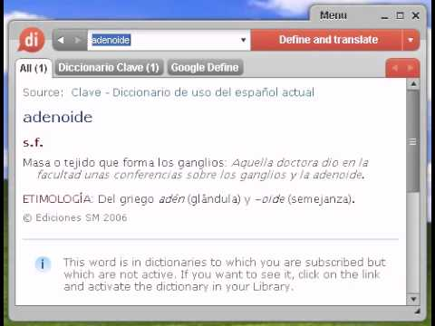 Definición de adenoide