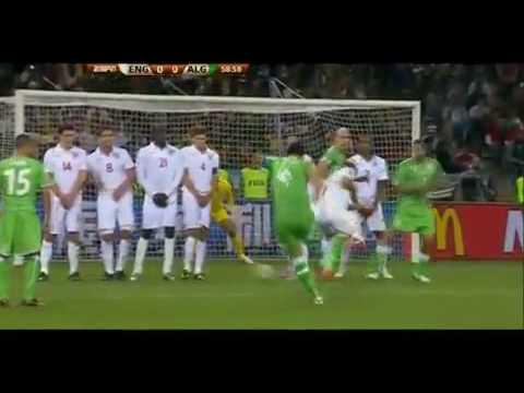 Algerie 0-0 Angleterre Coupe du Monde 2010 (Les meilleurs moment)