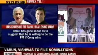 Salman Khurshid: Rahul Gandhi is our PM candidate - NEWSXLIVE