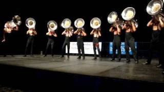 DCI 2009 I&E - The Academy - Low Brass Ensemble