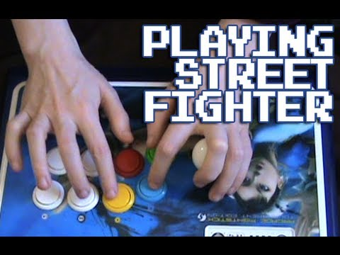 Playing Street Fighter [AE 2012]