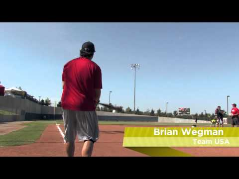 Brian Wegman Swings the Easton Stealth Tri-Zone Slow Pitch Bat: SCN19 - JustBats.com Video