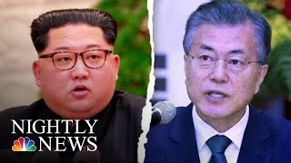 Kim Jong Un To Become First North Korean Leader To Enter South Korea | NBC Nightly News - NBCNEWS
