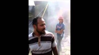 حملة لإزالة التعديات بمركز ومدينة أبو صوير