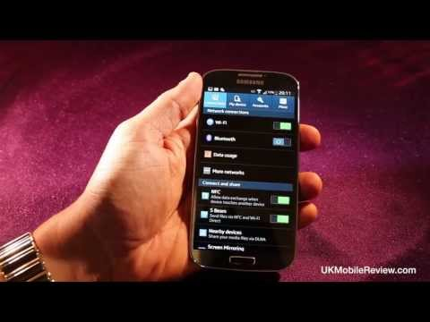 Samsung Galaxy S4 Settings Demo
