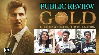 GOLD Public REVIEW | Audience feeling PATRIOTIC | Akshay Kumar - IANSINDIA
