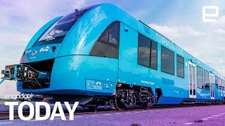 The world's first hydrogen-powered train has started running in Germany | Engadget Today - ENGADGET