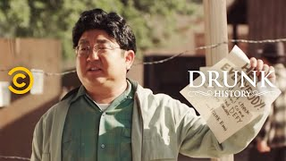 Frank Emi Defies the Draft of Japanese Americans During WWII - Drunk History - COMEDYCENTRAL