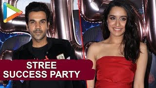 Stree SUCCESS party | Shraddha Kapoor | Taapsee Pannu | Rajkummar Rao | Nushrat | Part 2 - HUNGAMA
