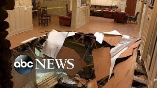 Dozens of people are recovering after an apartment floor collapsed in South Carolina - ABCNEWS