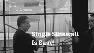 Arnis single sinawali steps