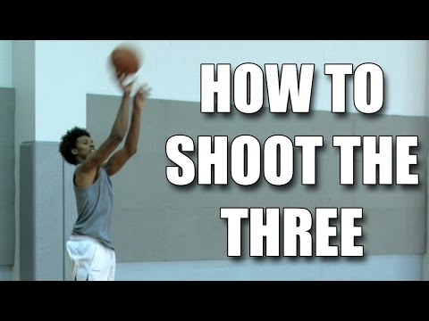 How to shoot a basketball 3 point shot : Nick Young