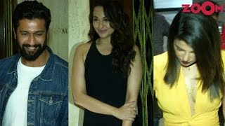 Bollywood Stars Priyanka Chopra, Sonakshi Sinha & Vicky Kaushal Spotted At Manish Malhotra's Party - ZOOMDEKHO