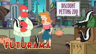 FUTURAMA | Season 10, Episode 12: Blossoming Romance | SYFY - SYFY