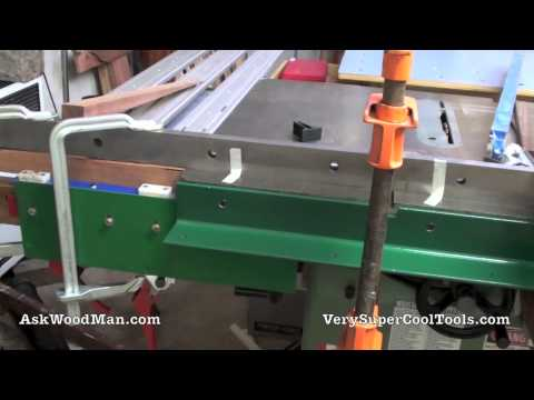3 of 5: How To Install Table Saw Guide Rails -- DIY Biesemeyer Style Guide Rail Series