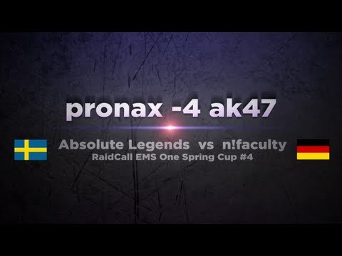 aL pronax vs n!faculty @ RaidCall EMS One