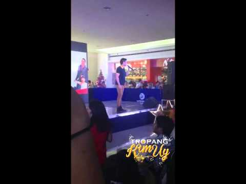 XIAN LIM @ SM STA ROSA (BDO GLOBAL PINOY PAMASKONG HANDOG) PART 2