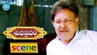 Subhapradam Movie Scenes - Sarath Babu Goes To Manjari Phadnis Home || Allari Naresh - IDREAMMOVIES