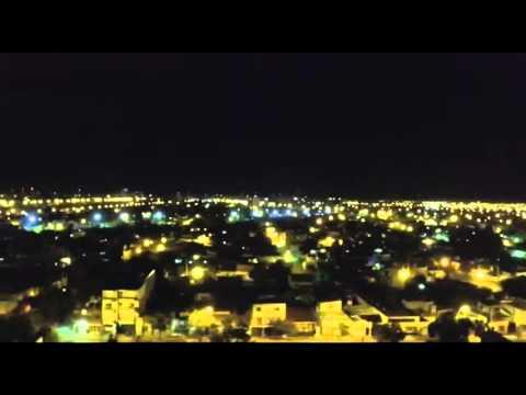 Un drone filmó la previa de la tormenta en Santa Fe