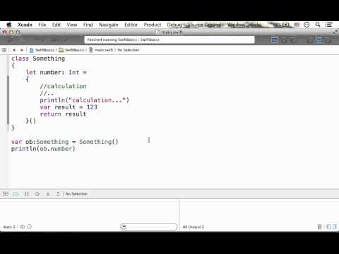 Property Value Setting with Closure in Swift