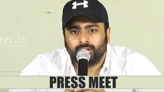 Nara Rohit Talks About Balakrishnudu Movie | TFPC - TFPC