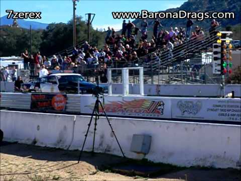 L.A.S.D  Motorsports Cuda #2 Drag Racing Barona Drag Strip 11-30-2013